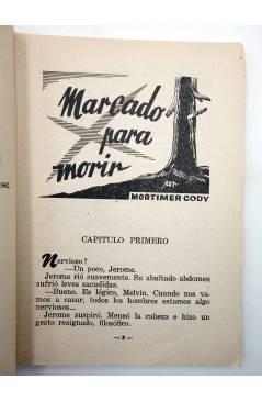 Muestra 2 de COLECCIÓN WESTERN 23. MARCADO PARA MORIR (Mortimer Cody) Valenciana 1962