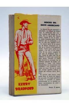 Contracubierta de COLECCIÓN WESTERN 42. 5 CINCO VIOLENTOS (Joe Bennet) Valenciana 1962