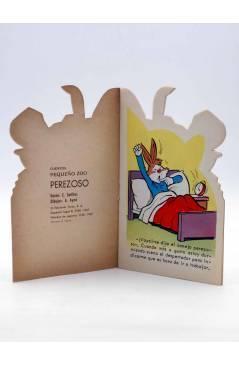 Muestra 1 de CUENTO TROQUELADO PEQUEÑO ZOO 55. PEREZOSO (E. Sotillos / A. Ayné) Toray 1967
