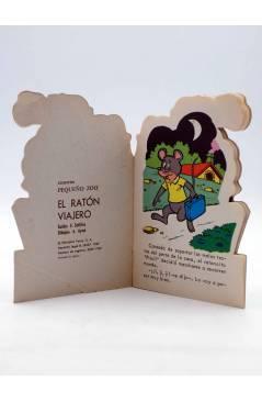 Muestra 1 de CUENTO TROQUELADO PEQUEÑO ZOO 60. EL RATÓN VIAJERO (E. Sotillos / A. Ayné) Toray 1967