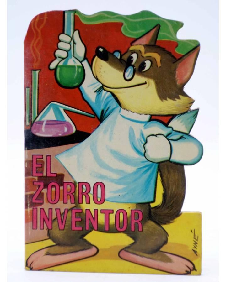 Cubierta de CUENTO TROQUELADO PEQUEÑO ZOO 61. EL ZORRO INVENTOR (E. Sotillos / A. Ayné) Toray 1967