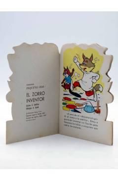 Muestra 1 de CUENTO TROQUELADO PEQUEÑO ZOO 61. EL ZORRO INVENTOR (E. Sotillos / A. Ayné) Toray 1967