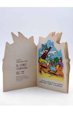 Muestra 1 de CUENTO TROQUELADO PEQUEÑO ZOO 65. EL LOBO TORPÓN (E. Sotillos / A. Ayné) Toray 1967