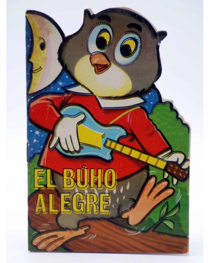 Cubierta de CUENTO TROQUELADO PEQUEÑO ZOO 66. EL BUHO ALEGRE (E. Sotillos / A. Ayné) Toray 1967