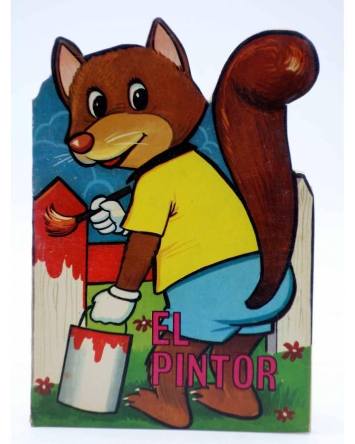 Cubierta de CUENTO TROQUELADO PEQUEÑO ZOO 71. EL PINTOR (E. Sotillos / A. Ayné) Toray 1967