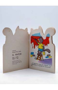 Muestra 1 de CUENTO TROQUELADO PEQUEÑO ZOO 71. EL PINTOR (E. Sotillos / A. Ayné) Toray 1967