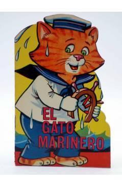 Cubierta de CUENTO TROQUELADO PEQUEÑO ZOO 105. EL GATO MARINERO (E. Sotillos / A. Ayné) Toray 1968