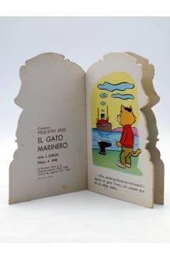 Muestra 1 de CUENTO TROQUELADO PEQUEÑO ZOO 105. EL GATO MARINERO (E. Sotillos / A. Ayné) Toray 1968