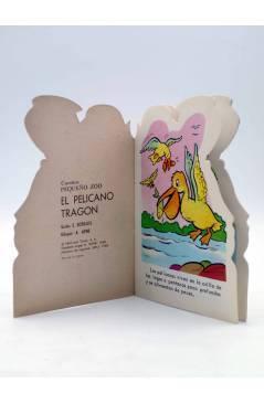 Muestra 1 de CUENTO TROQUELADO PEQUEÑO ZOO 108. EL PELÍCANO TRAGÓN (E. Sotillos / A. Ayné) Toray 1968