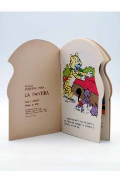 Muestra 1 de CUENTO TROQUELADO PEQUEÑO ZOO 122. LA PANTERA (E. Sotillos / A. Ayné) Toray 1968