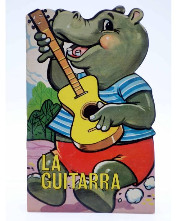 Cubierta de CUENTO TROQUELADO PEQUEÑO ZOO 124. LA GUITARRA (E. Sotillos / A. Ayné) Toray 1968