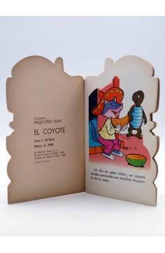 Muestra 1 de CUENTO TROQUELADO PEQUEÑO ZOO 134. EL COYOTE (E. Sotillos / A. Ayné) Toray 1968