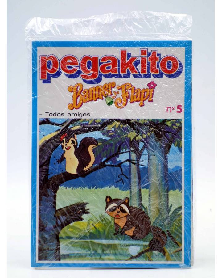 Cubierta de PEGAKITO BANNER Y FLAPI 5. TODOS AMIGOS. BRB 1980