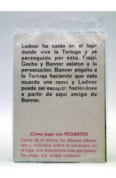 Contracubierta de PEGAKITO BANNER Y FLAPI 5. TODOS AMIGOS. BRB 1980