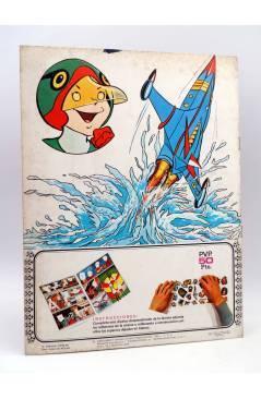 Contracubierta de COMPLETATÚ COMPLETA TÚ LA BATALLA DE LOS PLANETAS 1. LA MOMIA ESPACIAL. Fher 1980