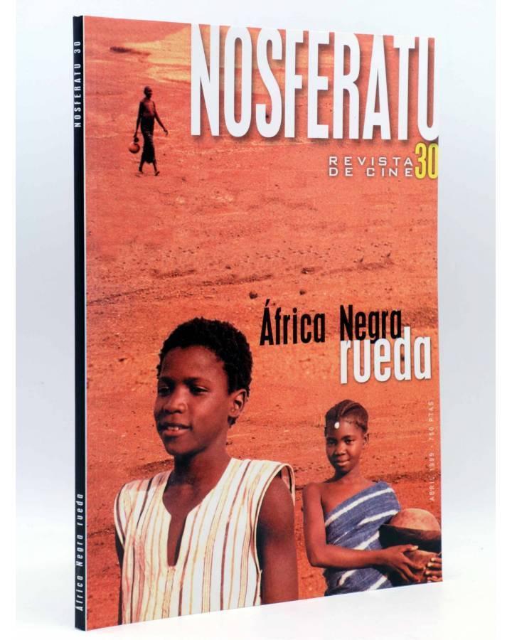 Cubierta de NOSFERATU REVISTA DE CINE 30. ÁFRICA NEGRA RUEDA (Vvaa) Ayto. de San Sebastián 1999