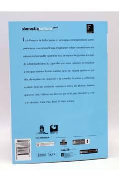 Contracubierta de COLECCIÓN NOSFERATU 7. FEDERICO FELLINI (José María Latorre) Ayto. de San Sebastián 2011
