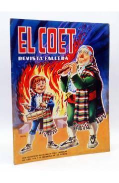 Cubierta de EL COET AÑO XXXII Nº 32. REVISTA FALLERA. AÑO 1976 (Vvaa) Valenciana 1976. FALLAS VALENCIA