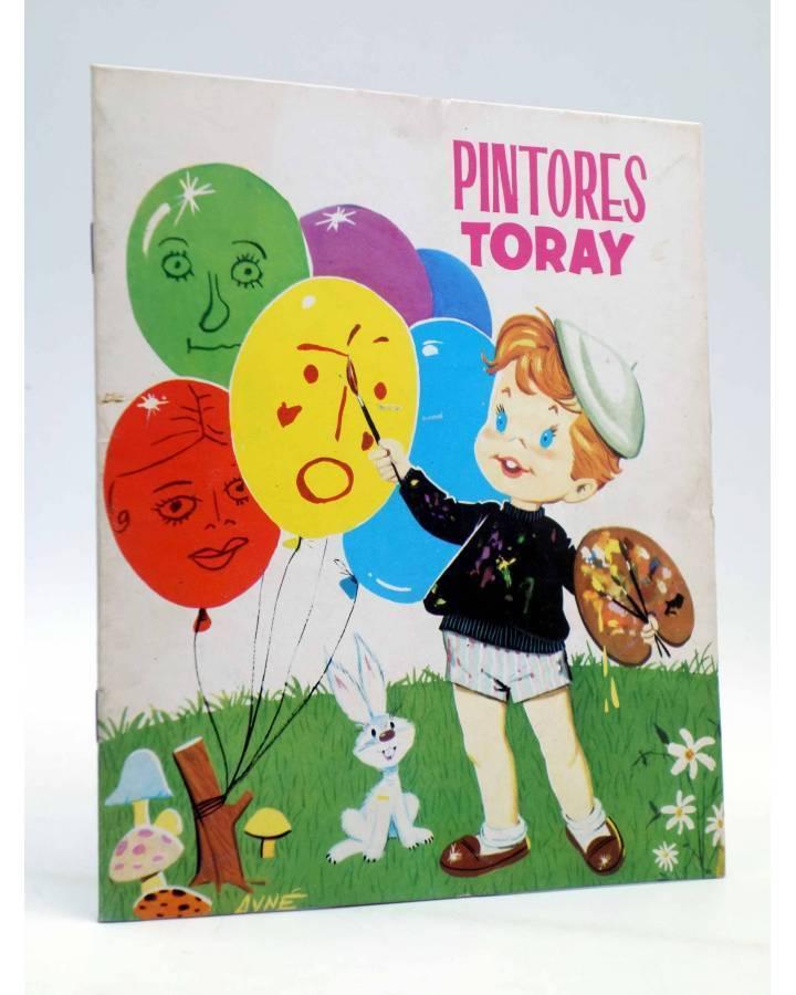 Cubierta de PINTORES TORAY SERIE M 1. NIÑO PINTANDO GLOBOS (Antonio Ayné) Toray 1986