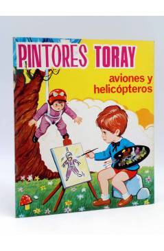 Cubierta de PINTORES TORAY SERIE M 11. AVIONES Y HELICÓPTEROS (Sin Acreditar) Toray 1980
