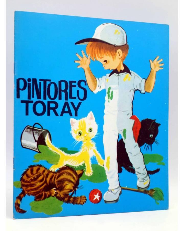 Cubierta de PINTORES TORAY SERIE G 23. GATOS RODEANDO A NIÑO (¿María Pascual?) Toray 1978