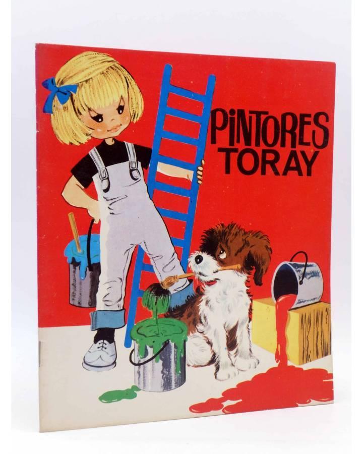 Cubierta de PINTORES TORAY SERIE G 4. NIÑA PERRO Y ESCALERA (¿María Pascual?) Toray 1973