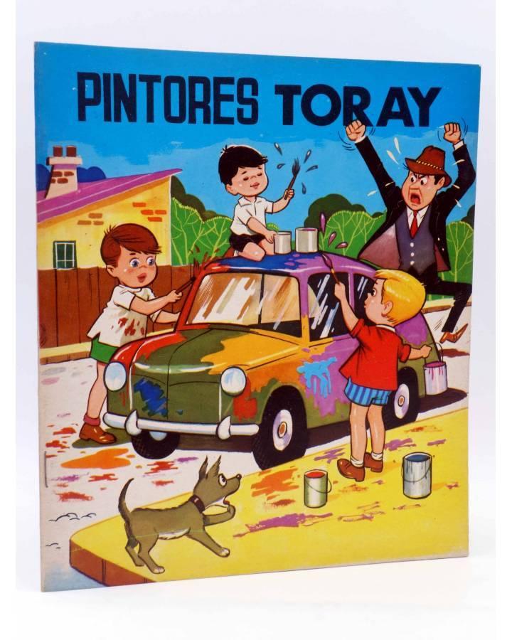 Cubierta de PINTORES TORAY SERIE G 9. PINTANDO UN COCHE. Toray 1973