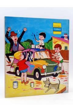 Contracubierta de PINTORES TORAY SERIE G 9. PINTANDO UN COCHE. Toray 1973