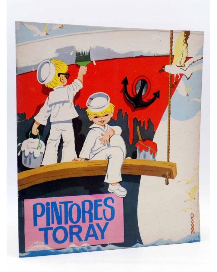 Cubierta de PINTORES TORAY SERIE G 10. PINTANDO UN BARCO (¿María Pascual?) Toray 1973