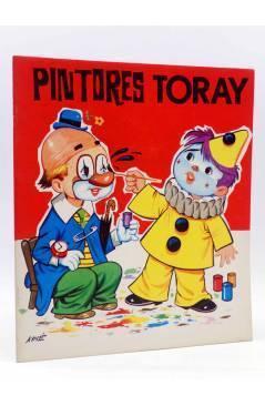 Cubierta de PINTORES TORAY SERIE G 13. PAYASOS (Antonio Ayné) Toray 1973