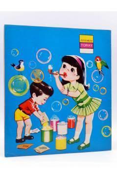 Contracubierta de PINTORES TORAY SERIE G 24. POMPAS DE JABÓN. Toray 1973