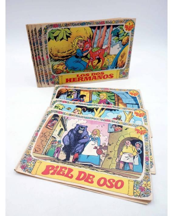 Cubierta de COLECCIÓN AMAPOLA 1 a 8. COMPLETA (Juan López - Jan) Bruguera 1975