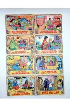 Contracubierta de COLECCIÓN AMAPOLA 1 a 8. COMPLETA (Juan López - Jan) Bruguera 1975