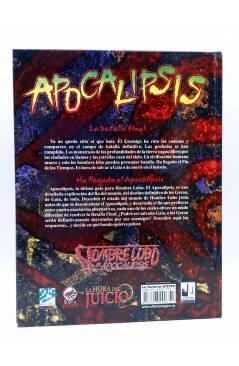 Contracubierta de LA HORA DEL JUICIO. APOCALIPSIS (Vvaa) La Factoría de Ideas 2004