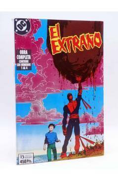 Cubierta de EL EXTRAÑO. RETAPADO NºS 1 A 4. OBRA COMPLETA (Jim Starlin / Berni Wrightson) Zinco 1989
