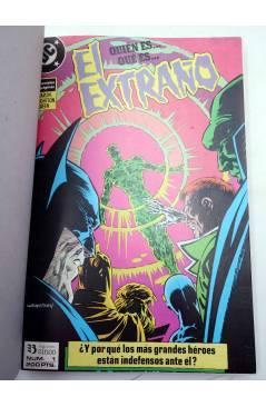 Contracubierta de EL EXTRAÑO. RETAPADO NºS 1 A 4. OBRA COMPLETA (Jim Starlin / Berni Wrightson) Zinco 1989