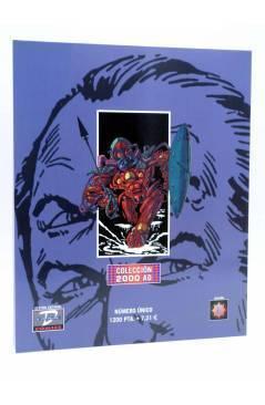 Contracubierta de COLECCIÓN 2000 AD. TWISTED TIMES (Alan Moore Y Otros) Dude 2001
