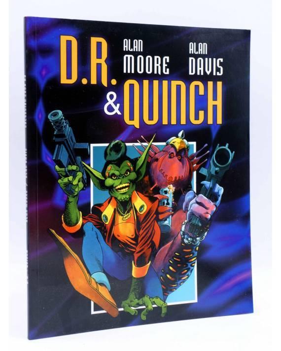 Cubierta de COLECCIÓN 2000 AD. DR D.R. & QUINCH (Alan Moore / Alan Davis) Dude 2001