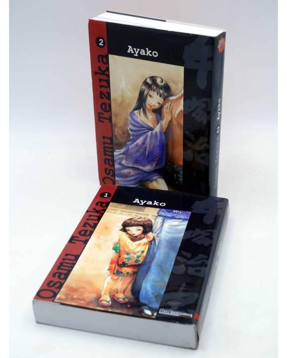 Cubierta de AYAKO 1 Y 2. COMPLETA (Osamu Tezuka) Otakuland 2004