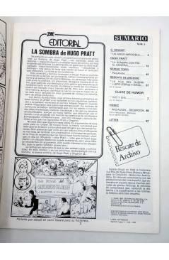 Muestra 3 de ZHAR 1 2 3 4. COLECCIÓN COMPLETA (Hugo Pratt Sergio Toppi Etc) Valenciana 1983