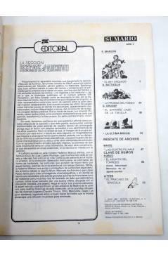 Muestra 4 de ZHAR 1 2 3 4. COLECCIÓN COMPLETA (Hugo Pratt Sergio Toppi Etc) Valenciana 1983