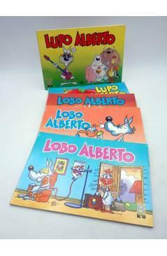 Cubierta de LUPO LOBO ALBERTO 1 2 3 4 5. COLECCIÓN COMPLETA (Silver) B 1988