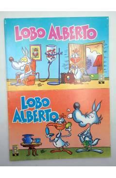 Contracubierta de LUPO LOBO ALBERTO 1 2 3 4 5. COLECCIÓN COMPLETA (Silver) B 1988