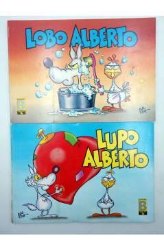 Muestra 1 de LUPO LOBO ALBERTO 1 2 3 4 5. COLECCIÓN COMPLETA (Silver) B 1988