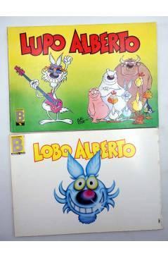 Muestra 2 de LUPO LOBO ALBERTO 1 2 3 4 5. COLECCIÓN COMPLETA (Silver) B 1988