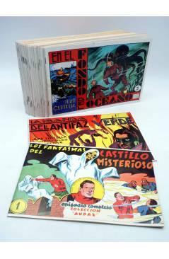 Cubierta de JUAN CENTELLA EL HÉRCULES DETECTIVE 1 a 23. COMPLETA. REEDICIÓN FACSIMIL. Comic MAM 1988
