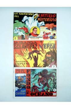 Contracubierta de JUAN CENTELLA EL HÉRCULES DETECTIVE 1 a 23. COMPLETA. REEDICIÓN FACSIMIL. Comic MAM 1988