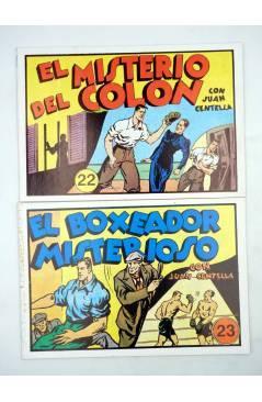 Muestra 7 de JUAN CENTELLA EL HÉRCULES DETECTIVE 1 a 23. COMPLETA. REEDICIÓN FACSIMIL. Comic MAM 1988