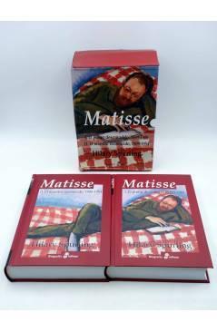 Contracubierta de MATISSE. EL PINTOR DESCONOCIDO. DOS TOMOS EN ESTUCHE (Hillary Spurling) Edhasa 2007