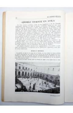 Muestra 2 de EL AJEDREZ ESPAÑOL AÑO I Nº 3. REVISTA MENSUAL. NOVIEMBRE (Vvaa) FEDA 1955